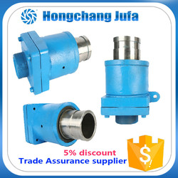 32A duoflow stainless steel flange iron fittings swivel rotary union joint for pipe