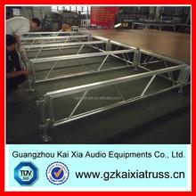 1.22*2.44m Top quality Plywood Platform Aluminum Modular Stage