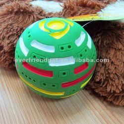 Green Squeak Christmas Rubber Ball Pet Supplies Dog