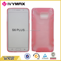 New slim ultra thin colorful phone case for Samsung S6 plus TPU phone back cover