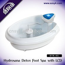Rehabilitation healthcare product Detox Foot Spa with therapy pads for Increasing the vigor of cells