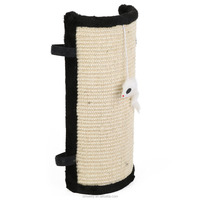 Cat Scratcher Post Pad - Features Velcro for Wrapping Around Table, Couch, Chair, Furniture Leg to Prevent Scratchin