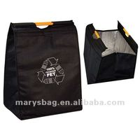 Recycled PET Cooler Bag with Strong Plastic Handles