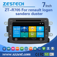 auto spare parts for renault logan sandero duster with dvd gps bluetooth 3G RDS TV