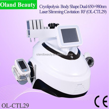 Newest product 650+980nm Laser home use cryolipolysis/home cryolipolysis hot selling!!!