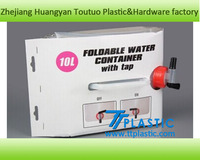 FDA approved drinking foldable water carrier 10L