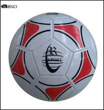 Stocklot of PVC soccer ball size 5 with 300gm