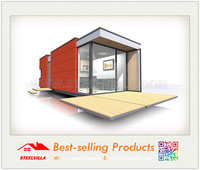 Light weight easy installation modular container home mini house