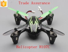 outdoor 4 channels rc helicopter with camera x4 H107C toy mini quadcopter
