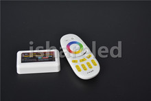 2.4G 4 Color Strip Controller and 4 Zone Group Controller RGBW & Remote For RGB Light Strip