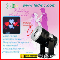 projector lamp stage light, christmas led lights, wedding decoration light