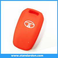 Silicone remote covers for tata vista manza car rubber holders