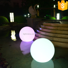 plastic light sphere,led glow orbs,illuminated ball light