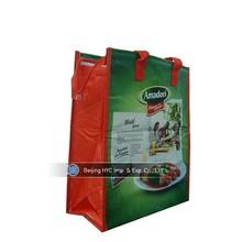 Wholesale promotional non-woven wine cooler bag