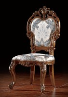BISINI Luxury Strong Hand Carved Teak Wood Dining Chair