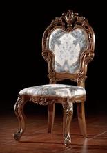 bisini يد قوية الفاخرة منحوتة خشب الساج كرسي الطعام