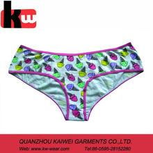 OEM Knitted Junior Cotton Panties,Young Girls Underwear