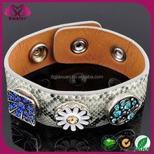 charms snap button bracelet
