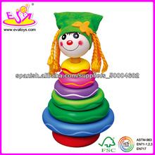 2013 coloridos juguetes de madera Jenga