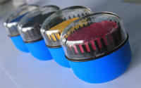 Wholesale!!!oval shape hair chalk comb convenient to use hair chalk comb easy wash hair chalk comb