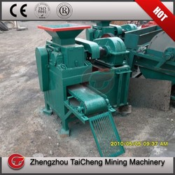 Wear-resistant rollers charcoal briquette ball make machine in store