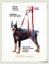 Soft Padded Handles Dog Leash Dual Handled Nylon Dog leashs 8FT extra Long Large Dog leash with 2 handles