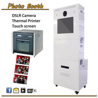 Promotion Price For Portable Steel Panel PhotoBooth With Printer For 3699$