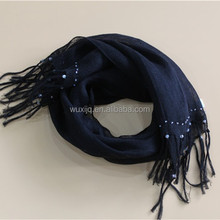 bead linen 2015 new style black scarf