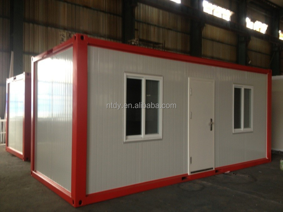 New design flat packed container homes