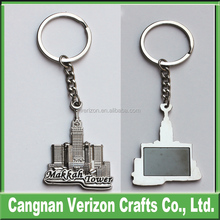 2015 Best Selling building shaped metal keychain