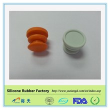 Silicone Rubber Handlebar Bar End Caps / Plugs Bike Cycle