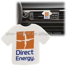 Novelty T shirt unique design Car Air Vent Freshener