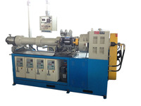 Durable long life rubber tube making extruder machine
