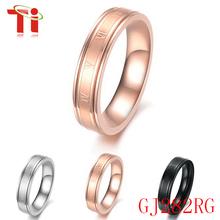 El anillo de 316L acero inoxidable joyería moda,Anillos de bodas de plata con diamond para la pareja