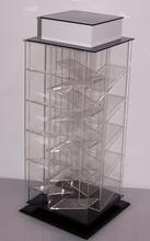 An counter top rotating acrylic lipstick holder arcylic nail kit