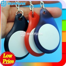 Contactless MIFARE Classic 2K ABS RFID keytag for payment