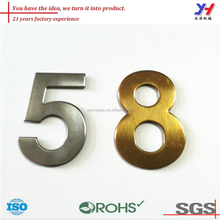OEM ODM customized high quality metal house modern metal numbers