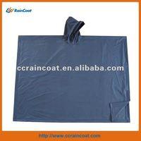 Clear safety rain poncho