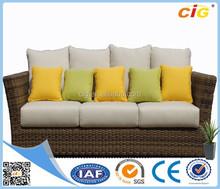 Customizable Multicolor Wicker Lounge Furniture
