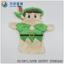 Plush hand puppets for adults, Customised toys,CE/ASTM safety stardard