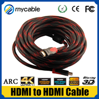 HDMI to HDMI cable with magnetic rings braid hdmi cable 1.4V wholesale