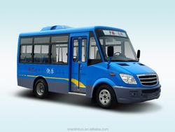 new design low price long nose safe 19 passenger seats Minibus