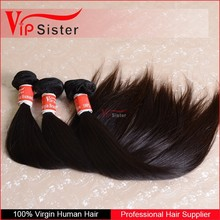 Can dye and iron 5a grade natural black wholesale virgin malaysian hair