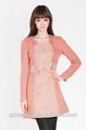 la moda de las señoras vestido deinvierno