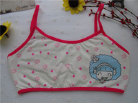 7182 latest Chinese factory cotton teenage underwear hot nice little children girls bra