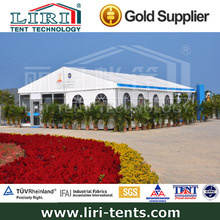 Outdoor white waterproof & flame retardant PVC wedding party with clear windows tent houses for sale