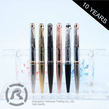 Small Order Accept Best Factory Direct Sales Customized Oem Brass Rollerball Pen For Man