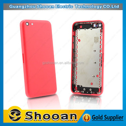 cherry mobile phone parts cover case for iphone 5c housing,wholesale for iphone 5c housing replacement