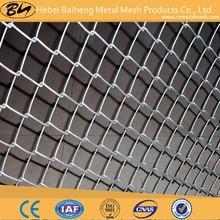 Galvanized steel 11.5 gauge chain link fence fabric