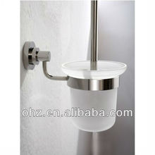 New Bathroom Accessories Toilet brush holder Clean Set Brass Antique